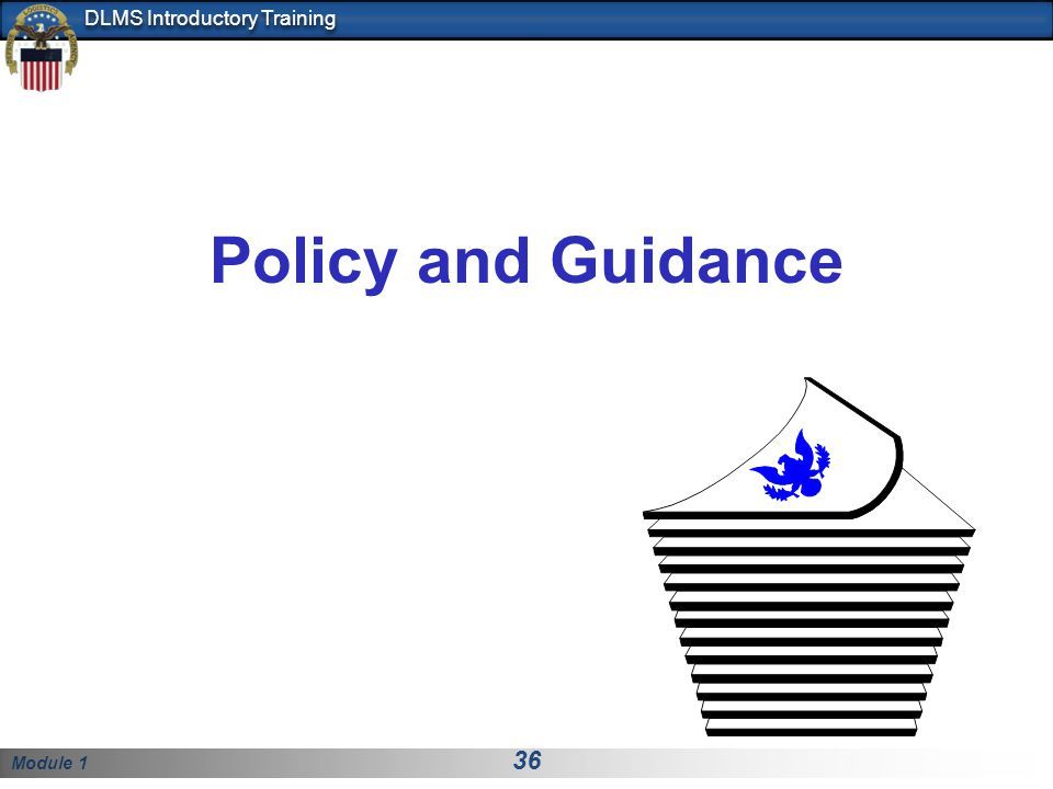 Policy and Guidance