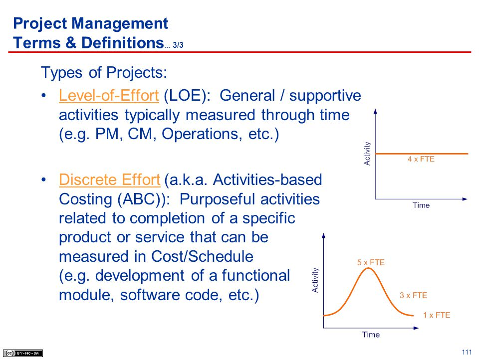 Project Management Terms & Definitions... 3/3