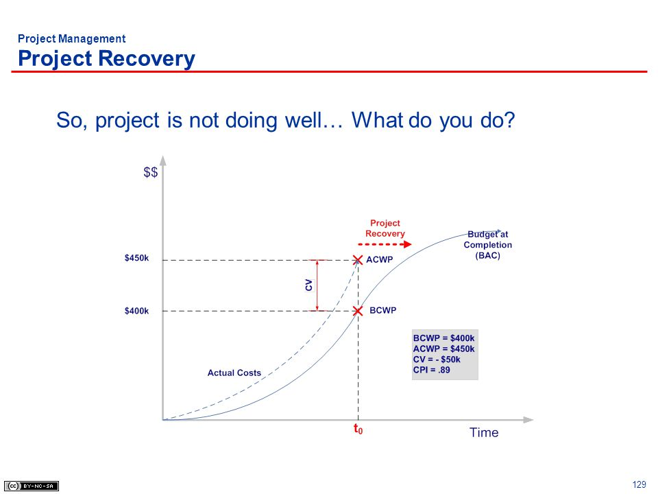 Project Management Project Recovery