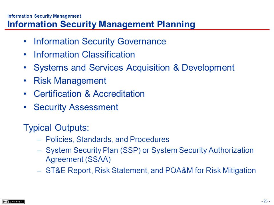 Information Security Governance Information Classification