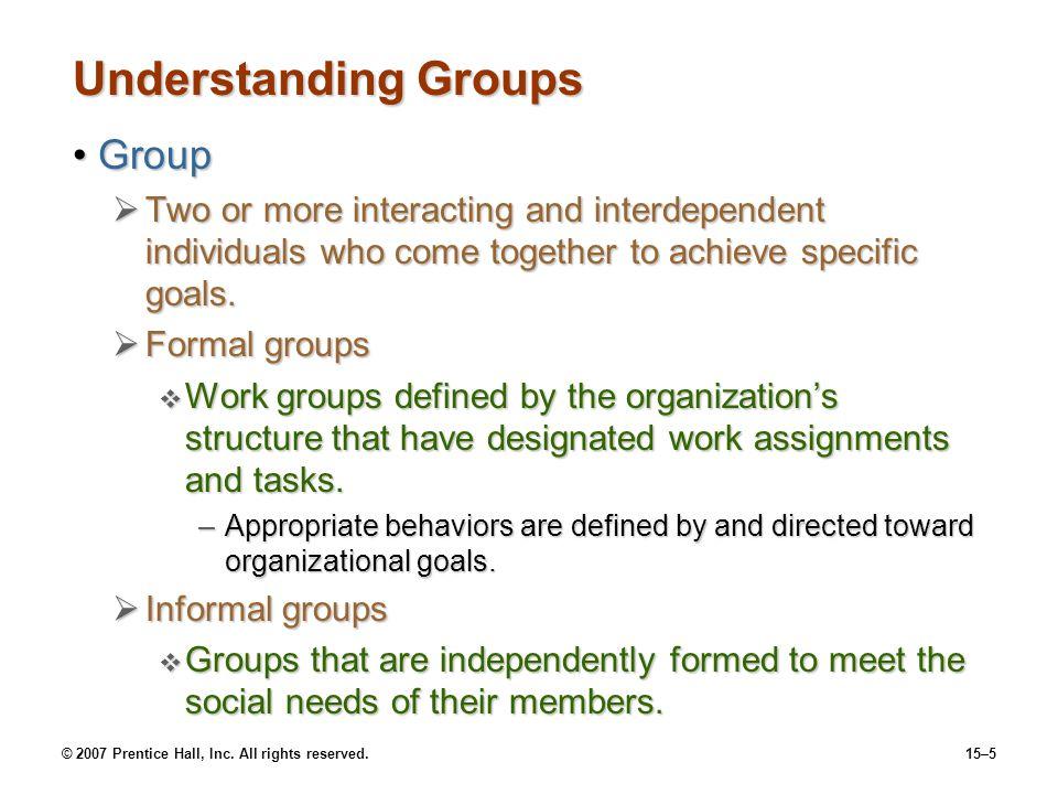Understanding Groups Group