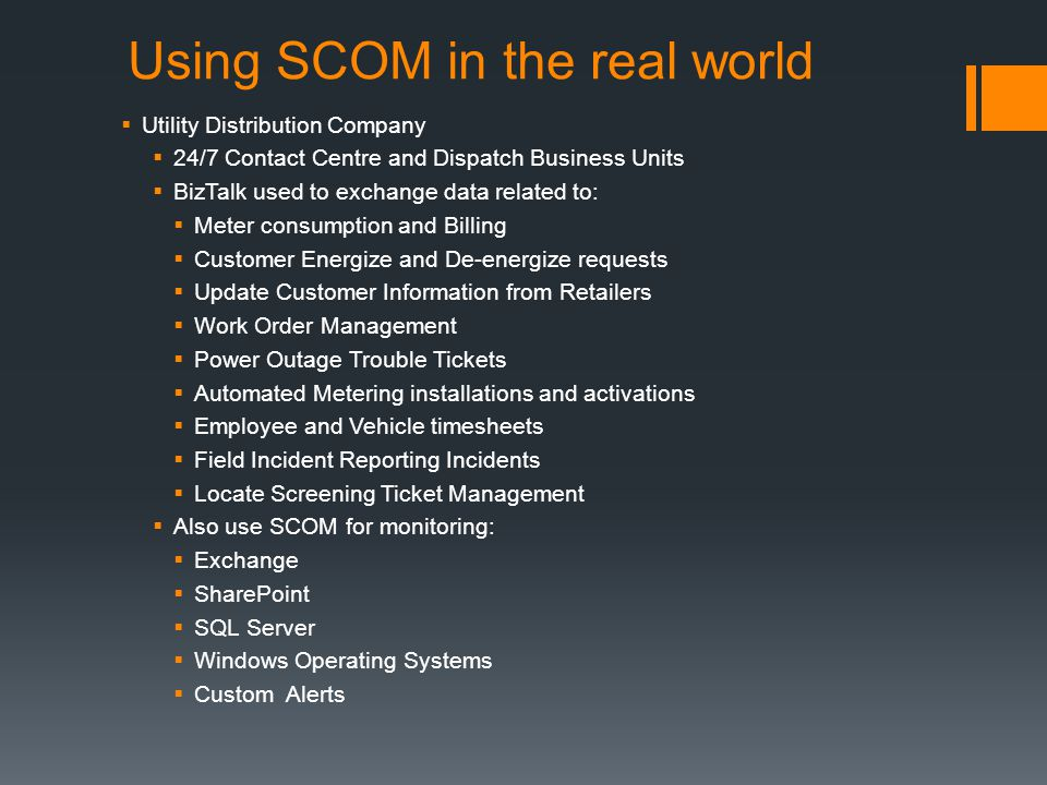 Managing Your Biztalk Environment With Scom Ppt Video