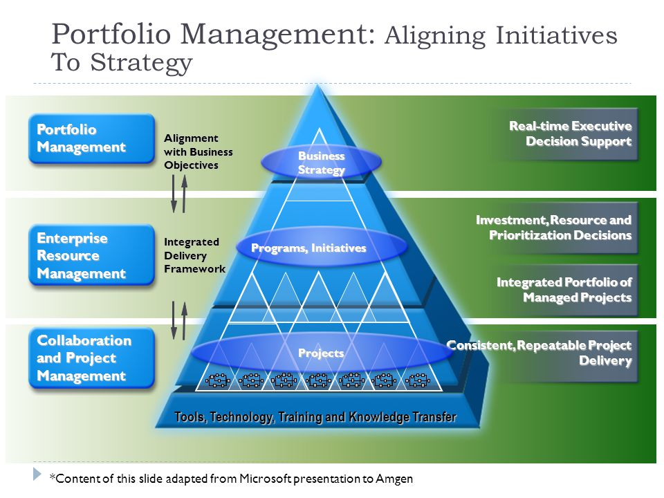 Portfolio Management: Aligning Initiatives To Strategy