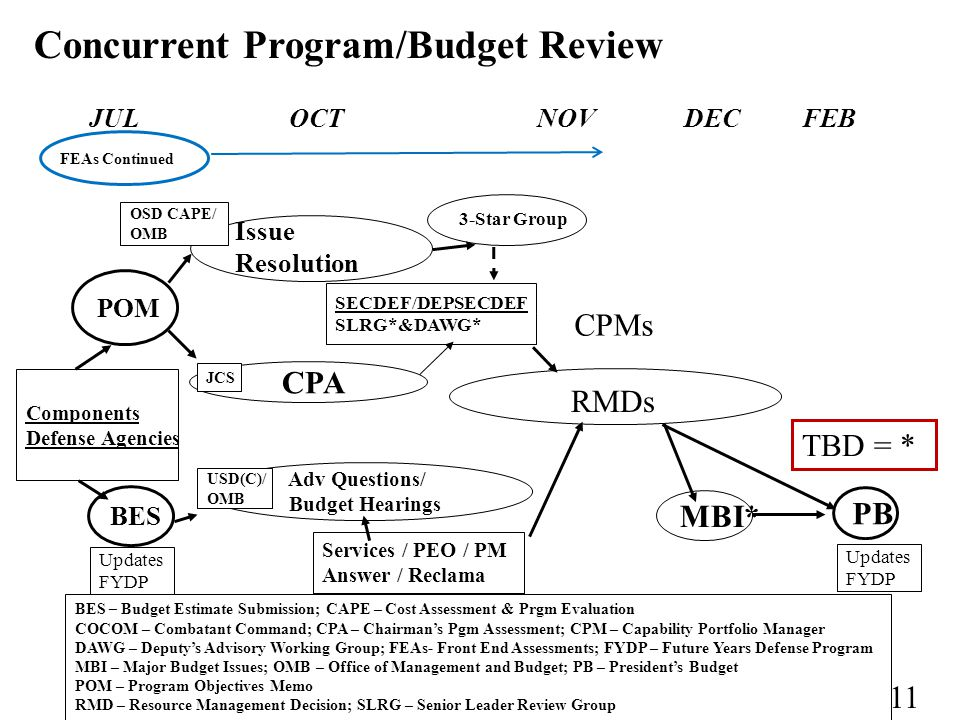 Concurrent Program/Budget Review