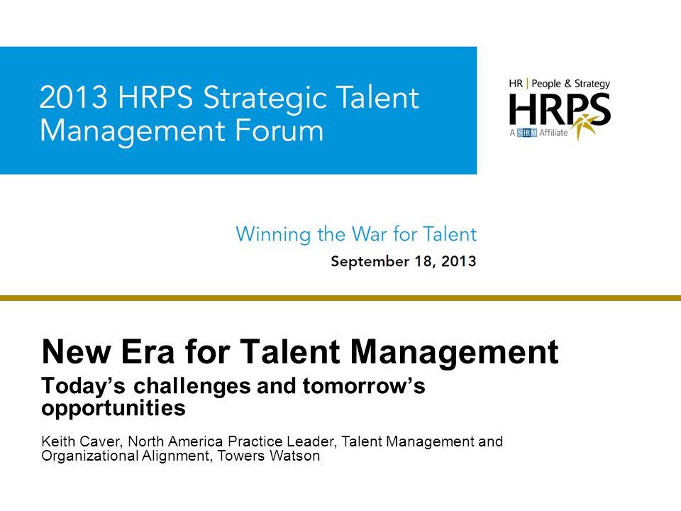 New Era for Talent Management