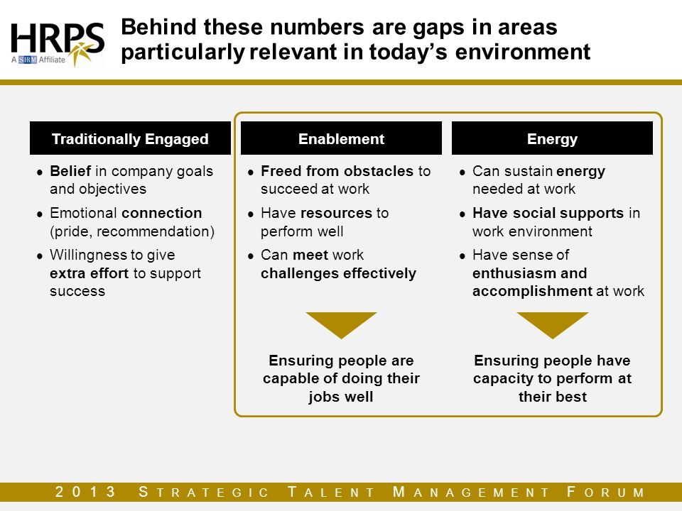 Behind these numbers are gaps in areas particularly relevant in today's environment