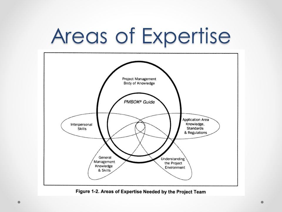 Areas of Expertise
