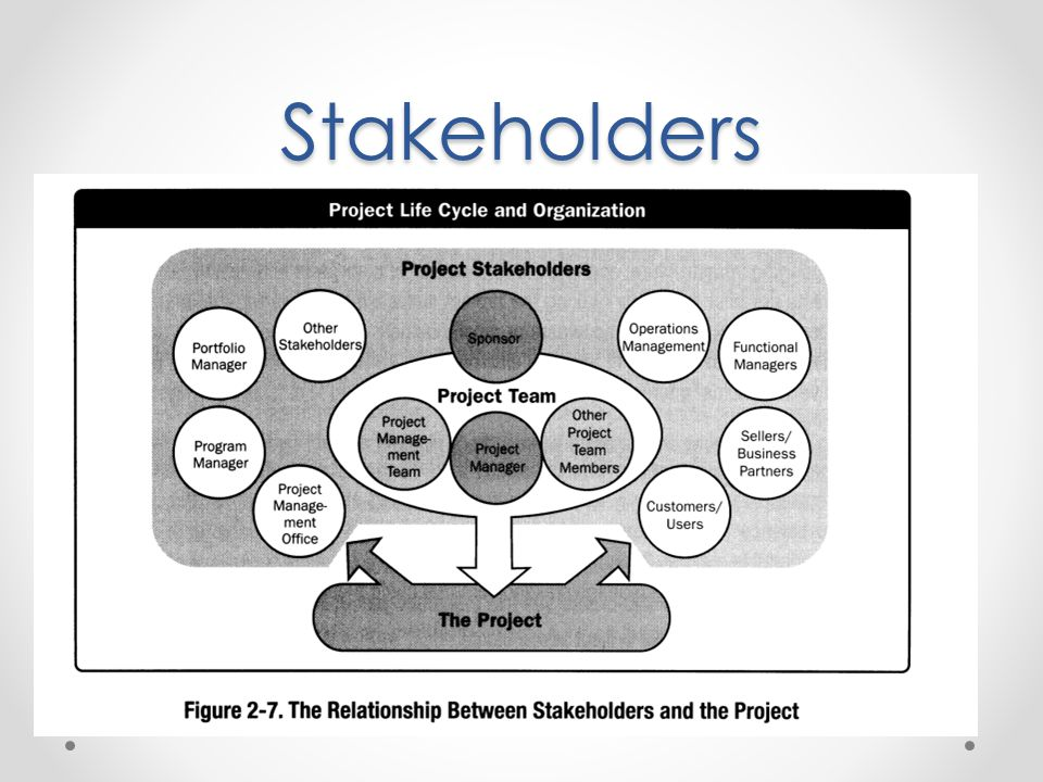Stakeholders Importance of Project Stakeholders