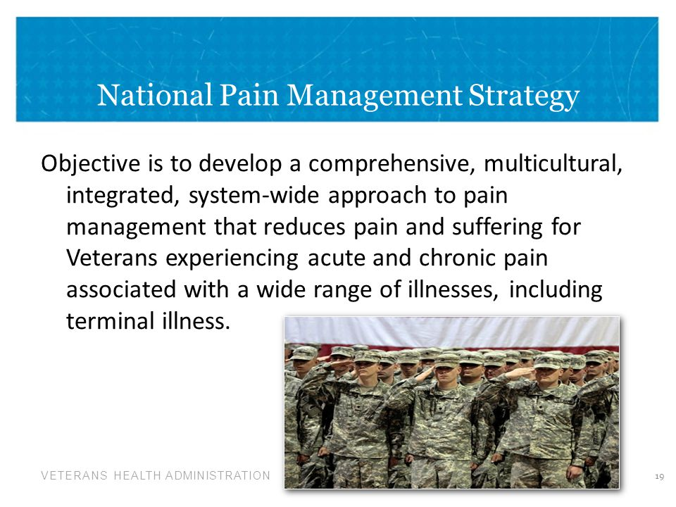 National Pain Management Strategy