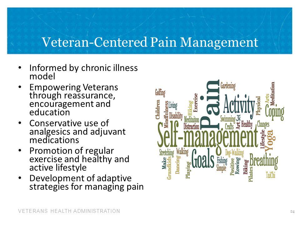 Veteran-Centered Pain Management