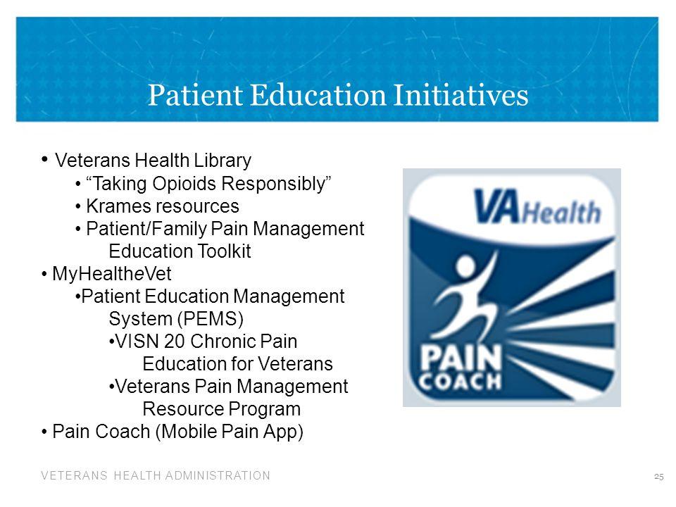 Patient Education Initiatives