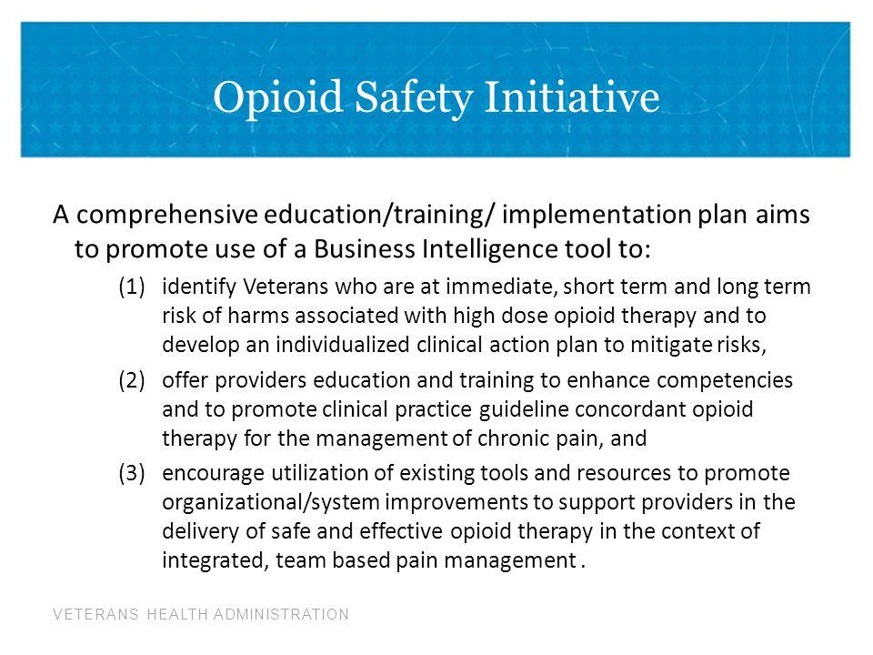 Opioid Safety Initiative
