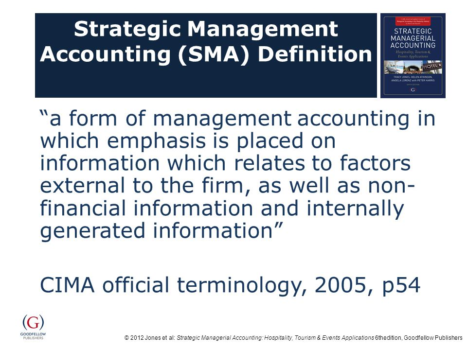 Strategic Management Accounting (SMA) Definition