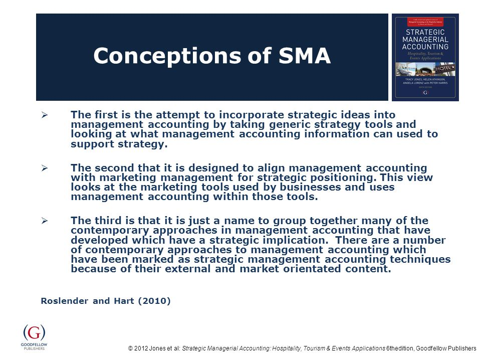 Conceptions of SMA