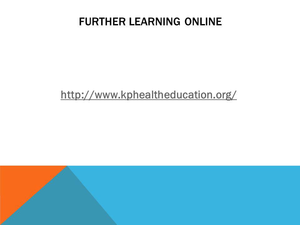 Further Learning ONline