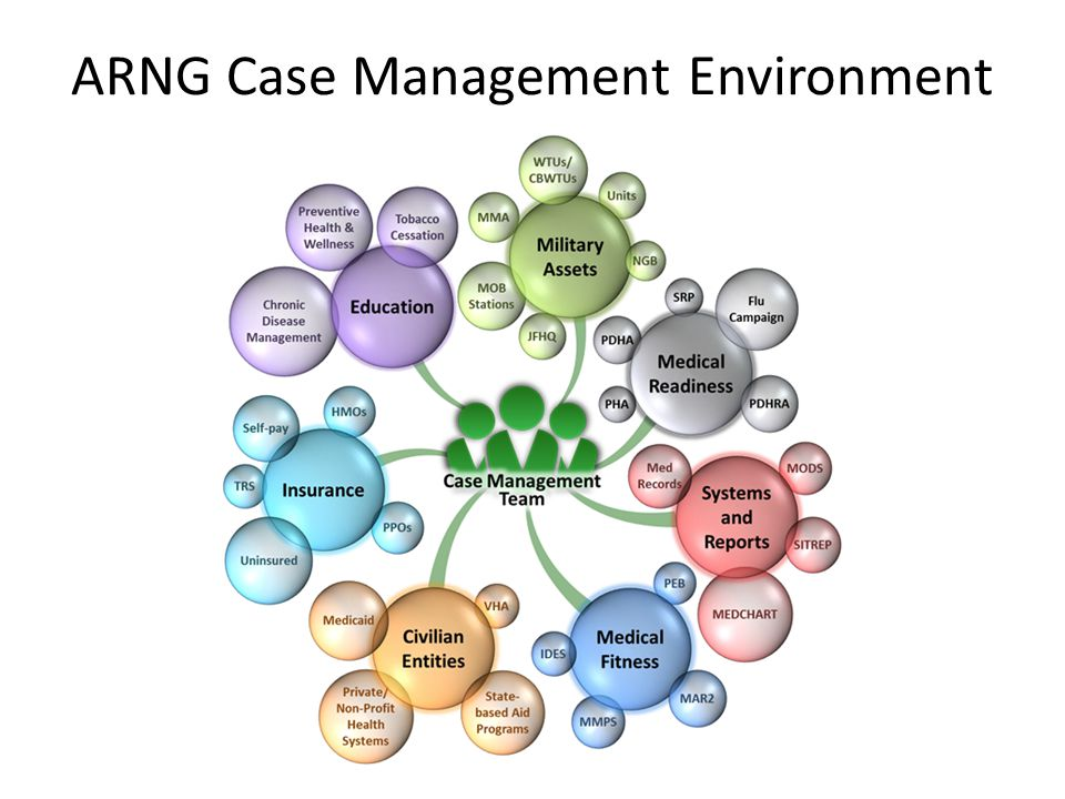 ARNG Case Management Environment