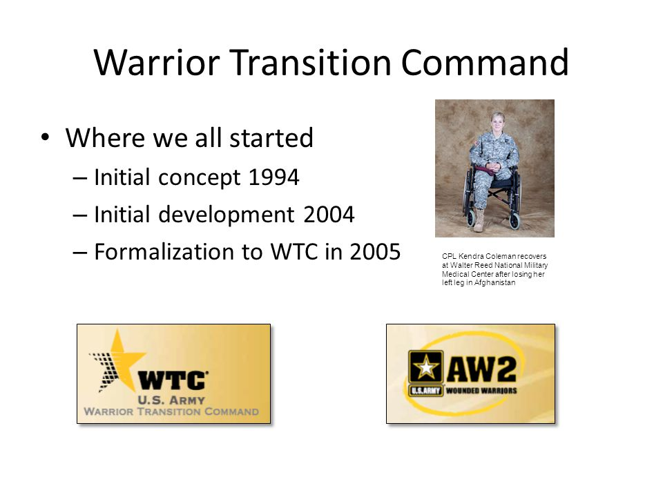 Warrior Transition Command