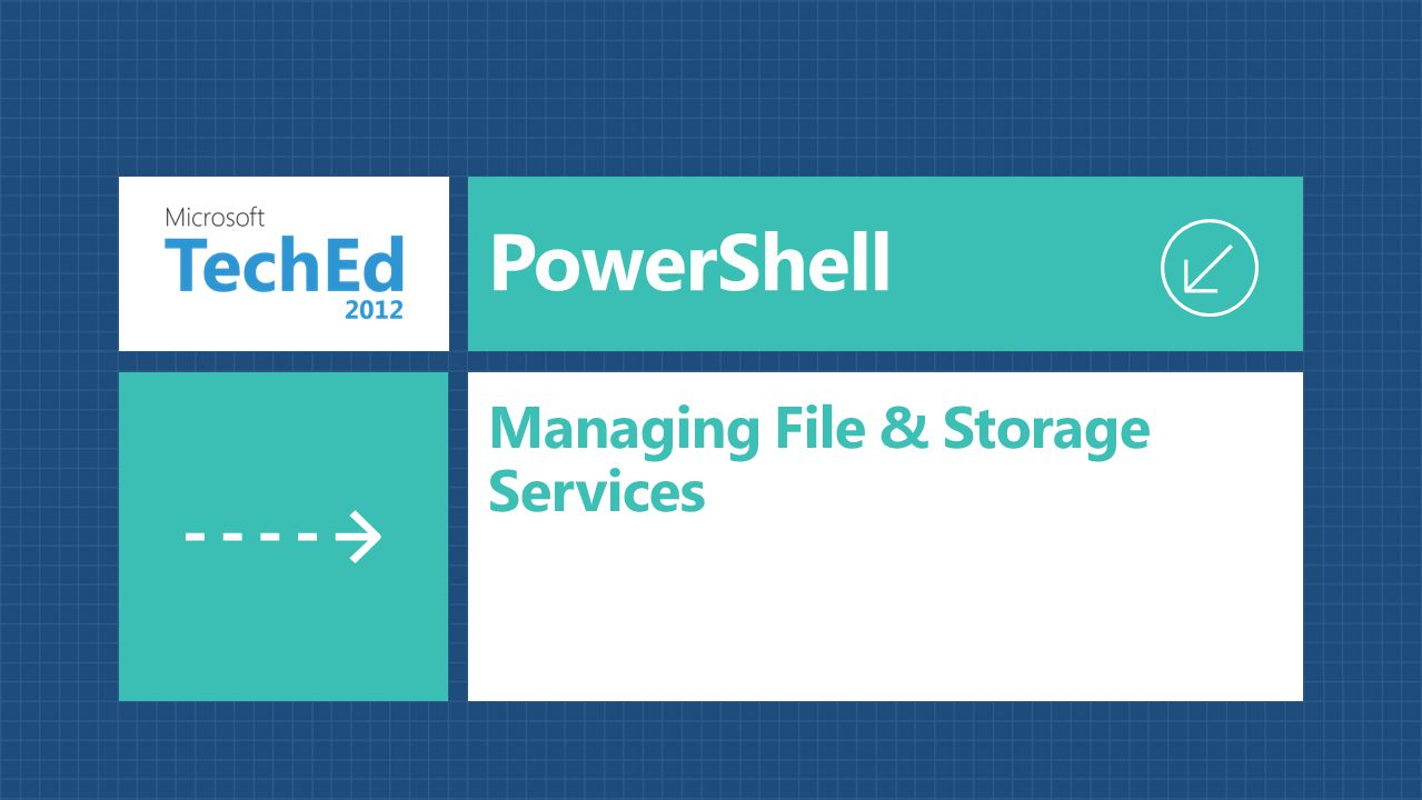 Managing File & Storage Services
