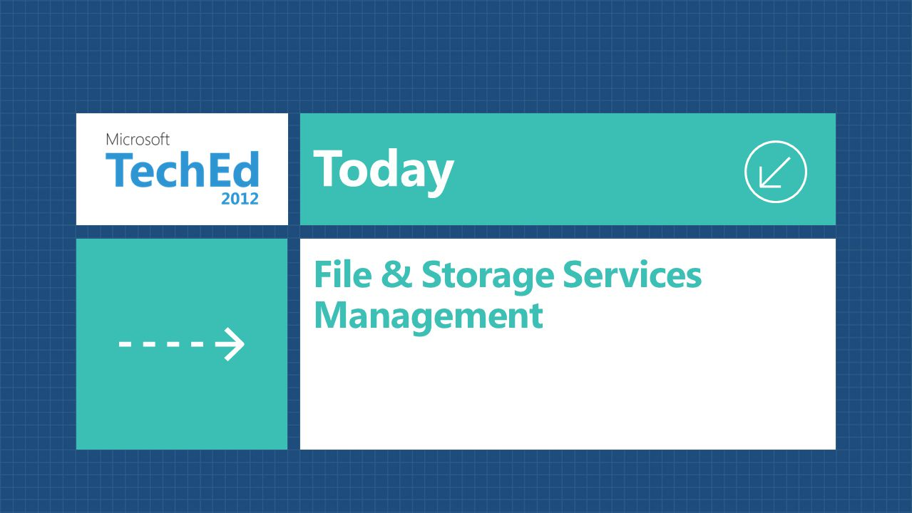 File & Storage Services Management