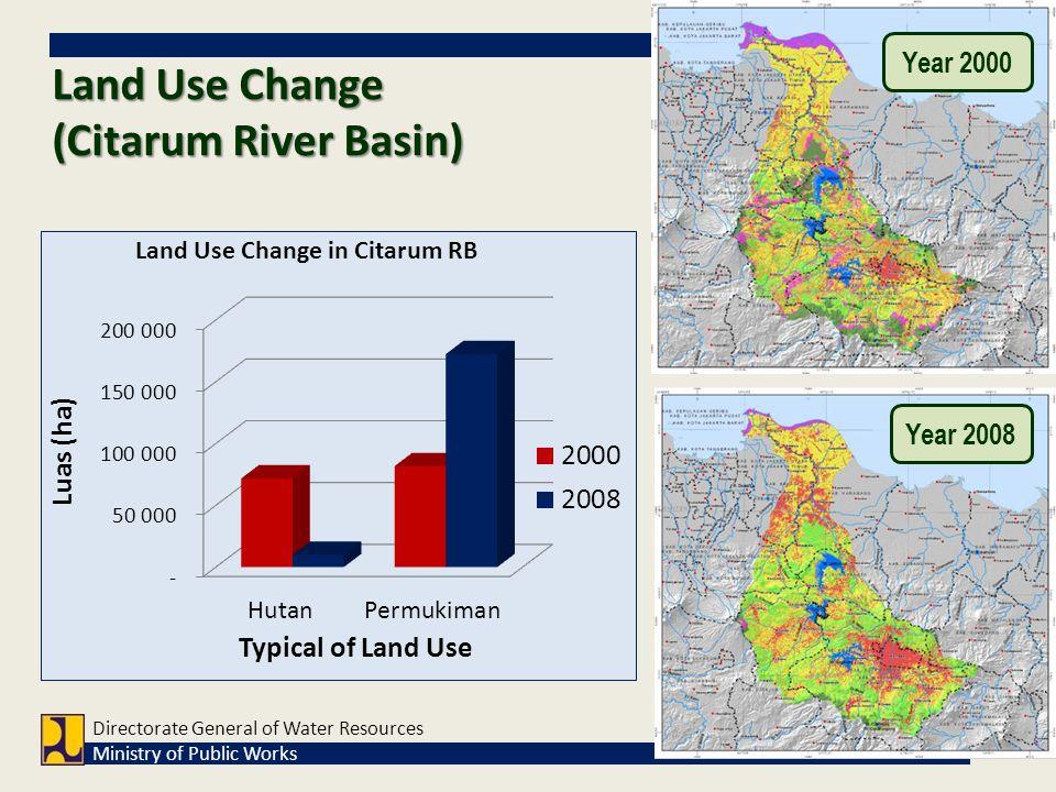 Land Use Change (Citarum River Basin)