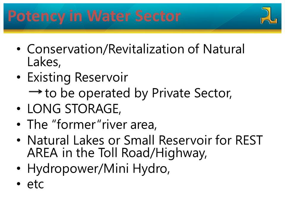 Potency in Water Sector