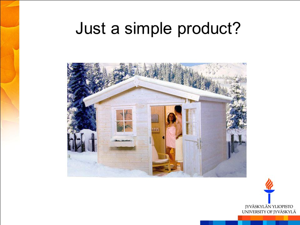 Just a simple product
