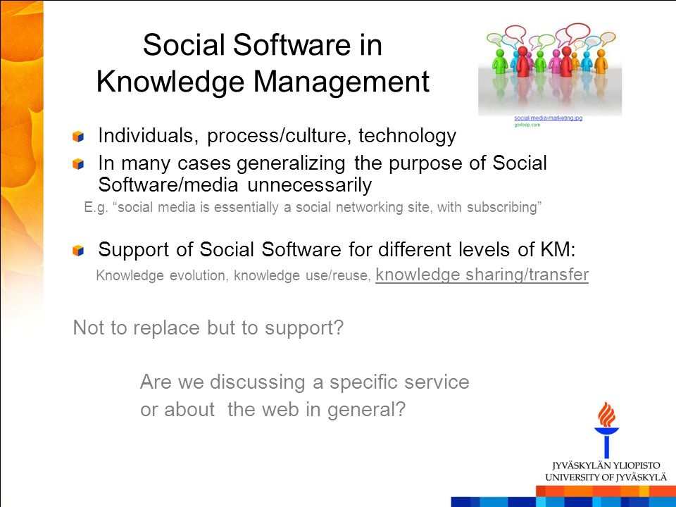 Social Software in Knowledge Management