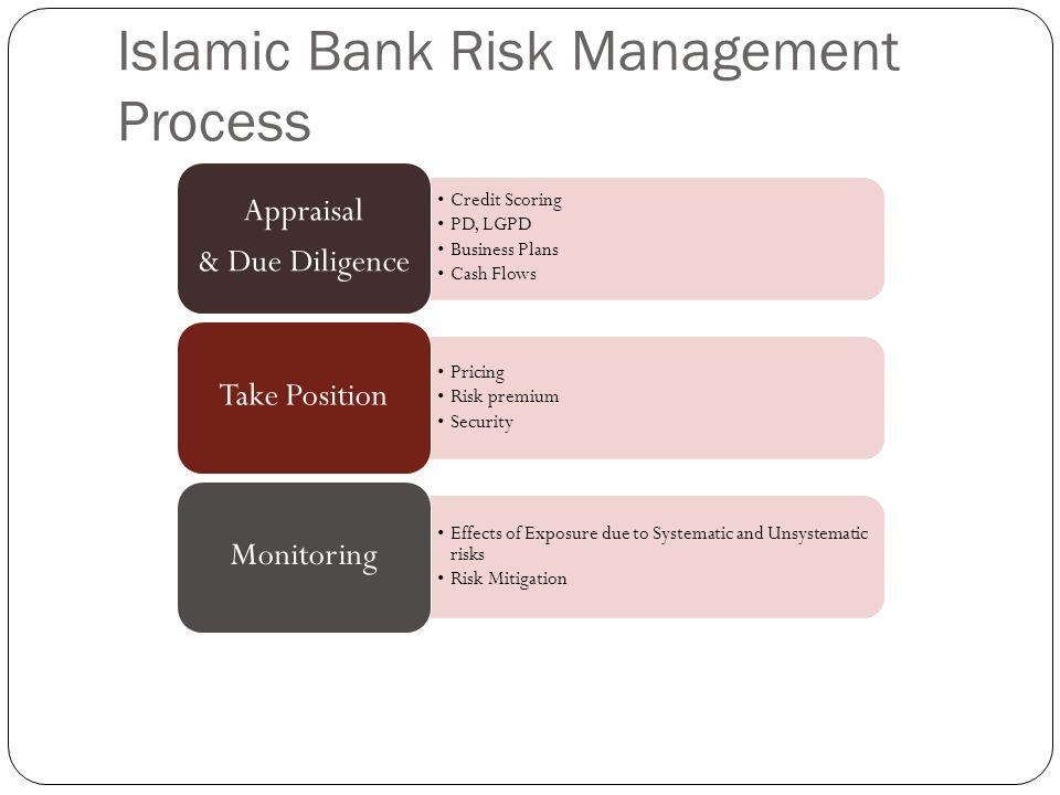 Islamic Bank Risk Management Process