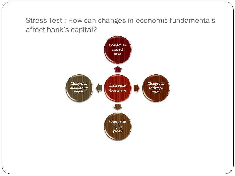 Stress Test : How can changes in economic fundamentals affect bank's capital
