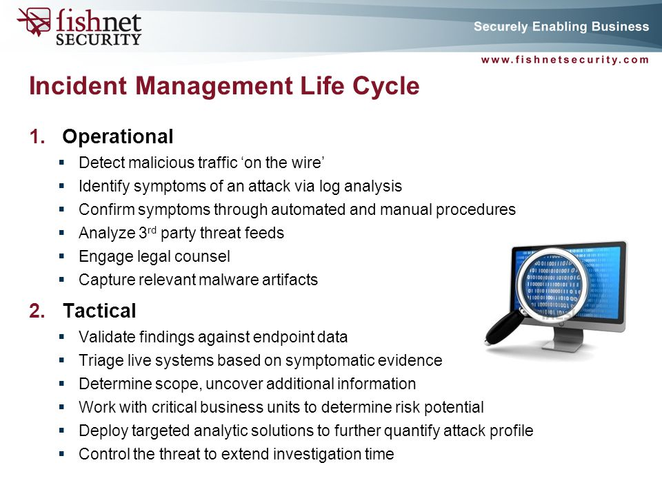 Incident Management Life Cycle