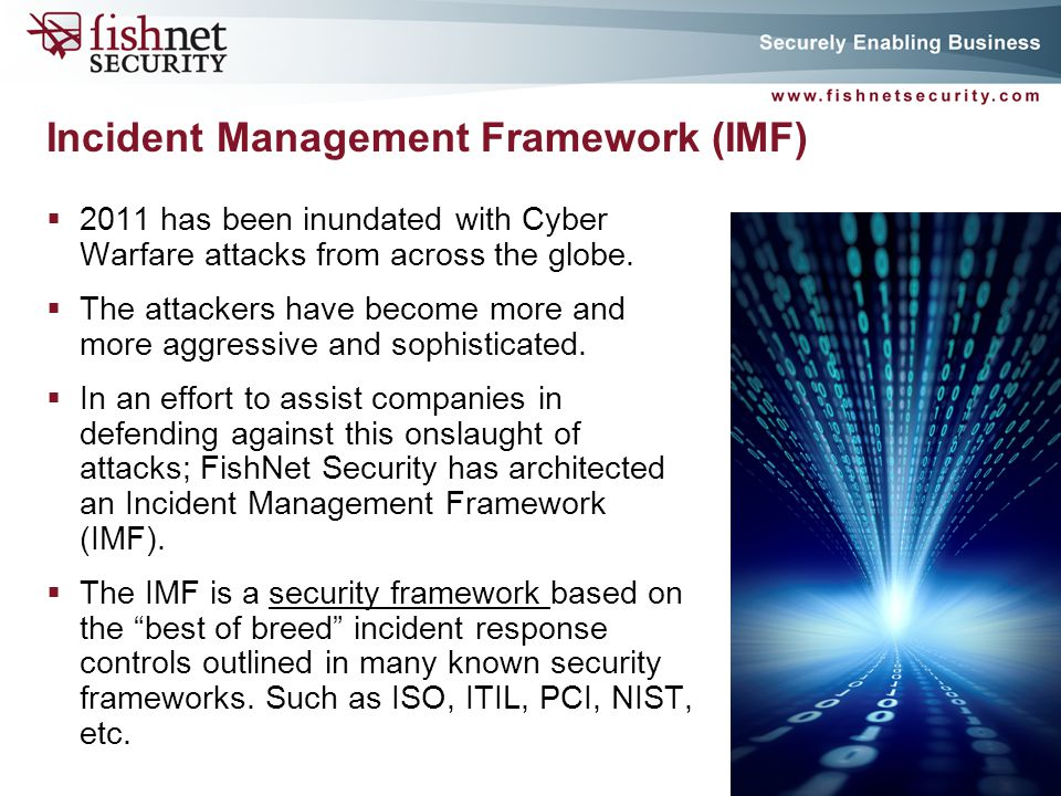 Incident Management Framework (IMF)