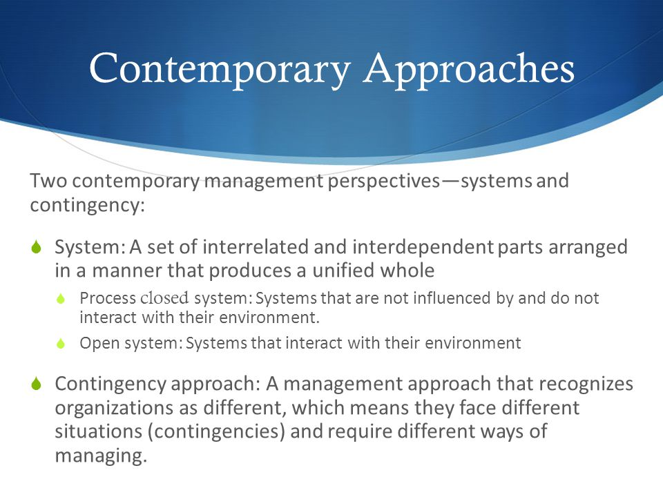contemporary approaches to risk management Start studying traditional and contemporary approaches to strategic control learn vocabulary, terms, and more with flashcards, games, and other study tools.