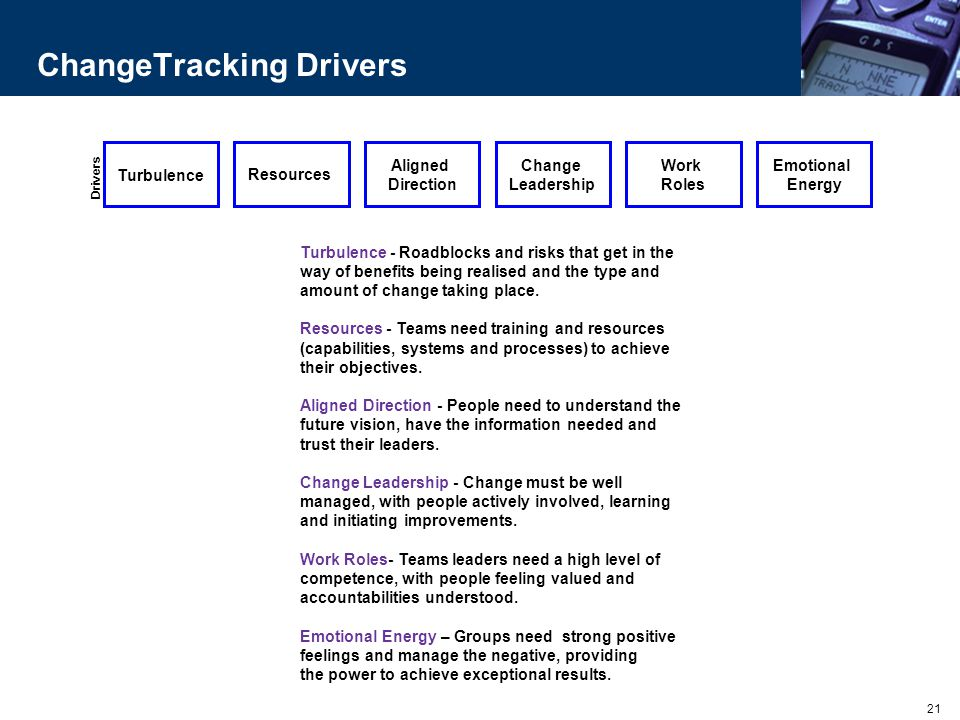 ChangeTracking Drivers