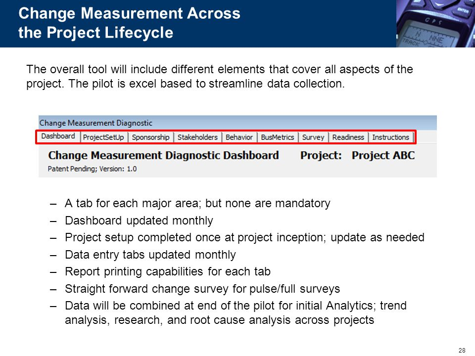 Change Measurement Across the Project Lifecycle