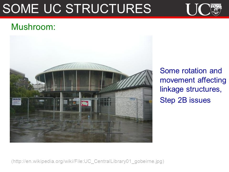 SOME UC STRUCTURES Mushroom: