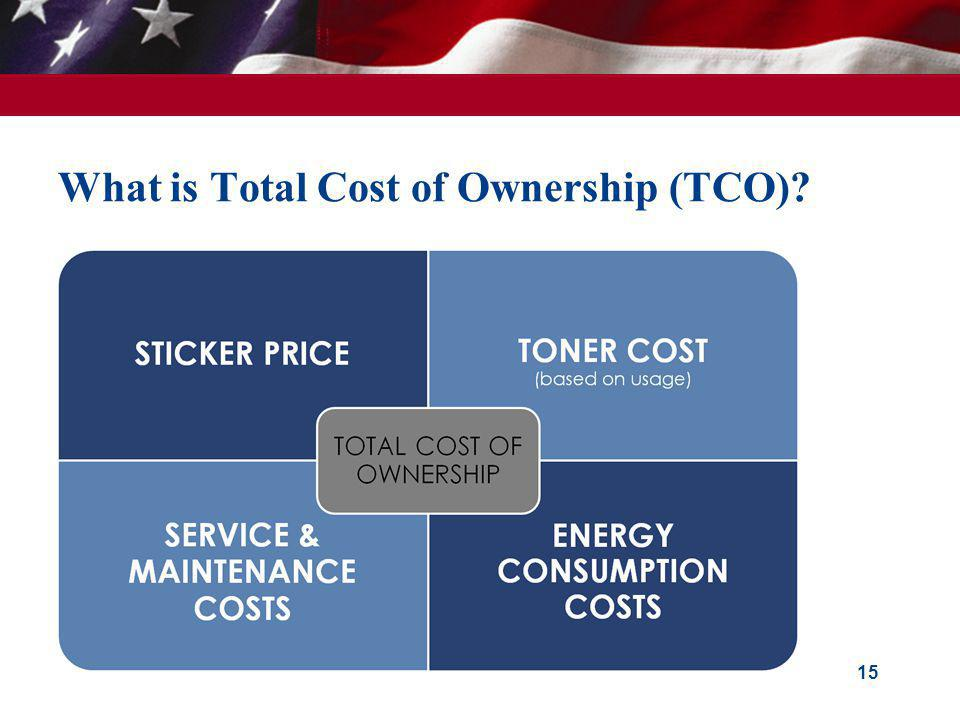 What is Total Cost of Ownership (TCO)