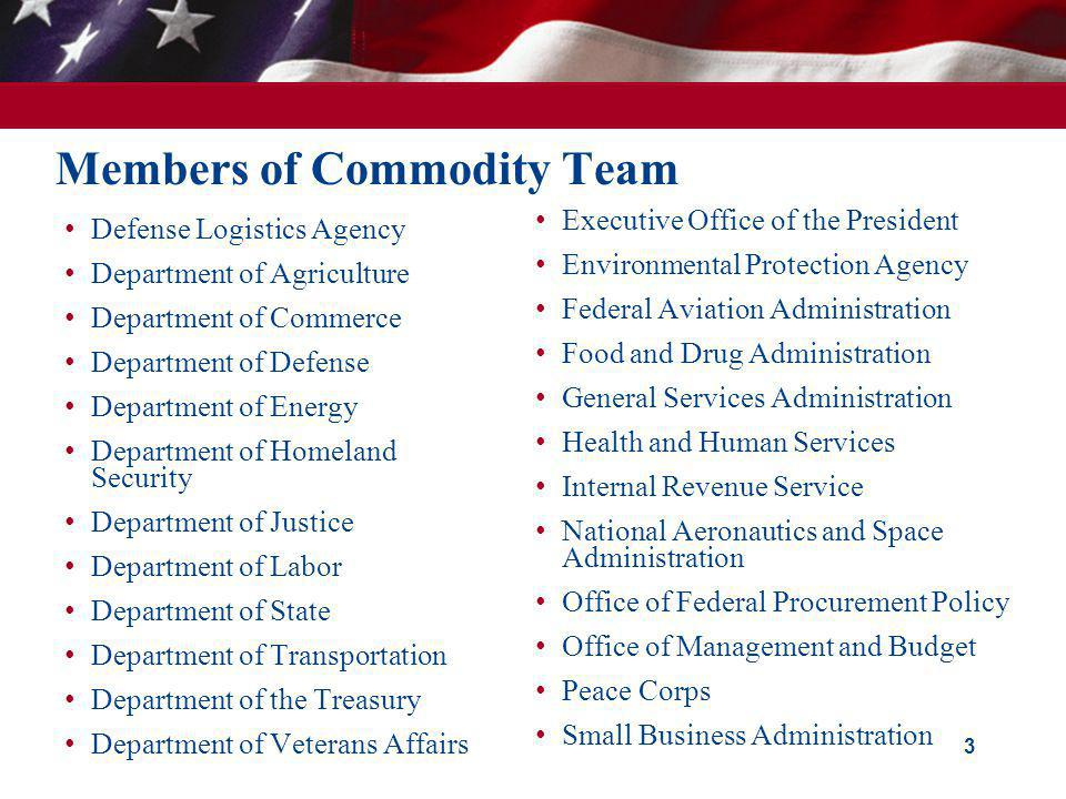 Members of Commodity Team
