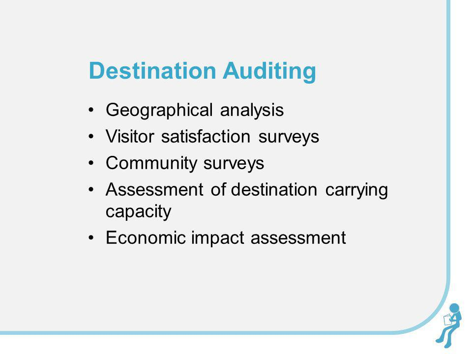 Destination Auditing Geographical analysis
