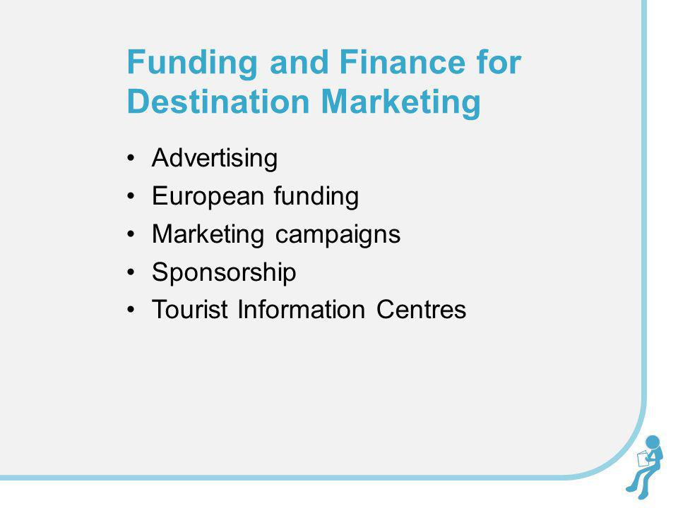 Funding and Finance for Destination Marketing