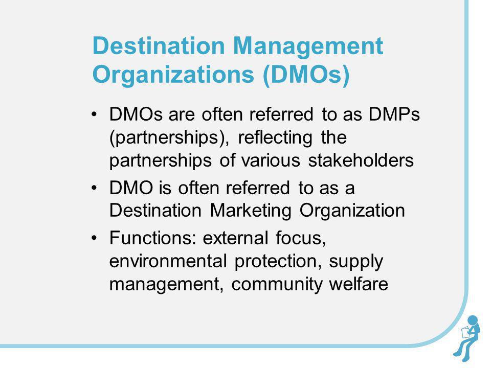 Destination Management Organizations (DMOs)