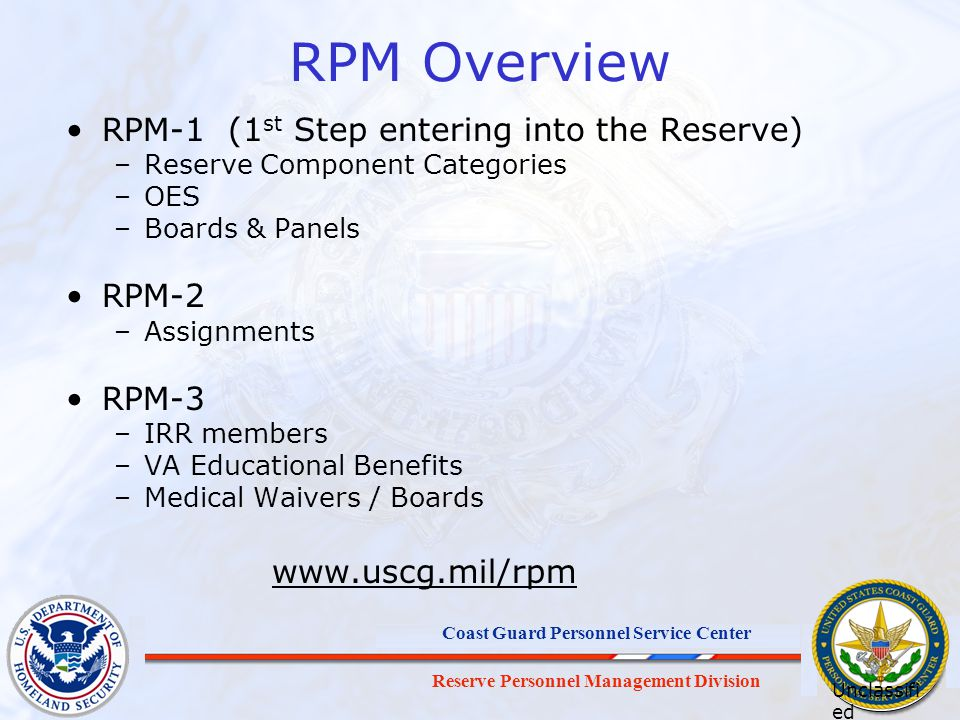 RPM Overview RPM-1 (1st Step entering into the Reserve) RPM-2 RPM-3