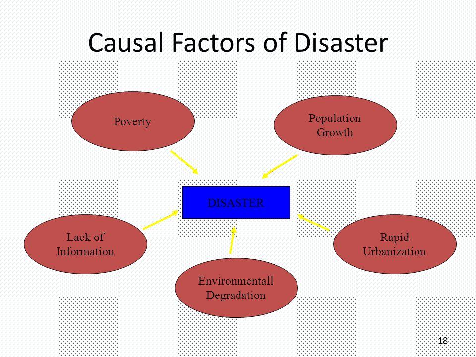 Causal Factors of Disaster