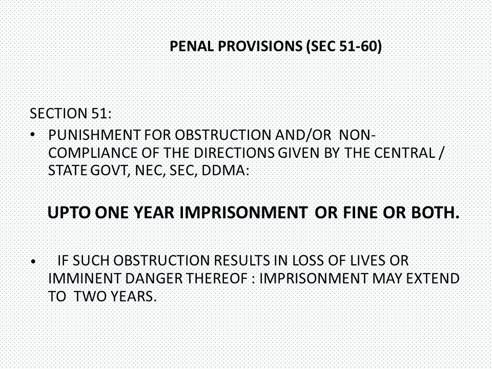 PENAL PROVISIONS (SEC 51-60)