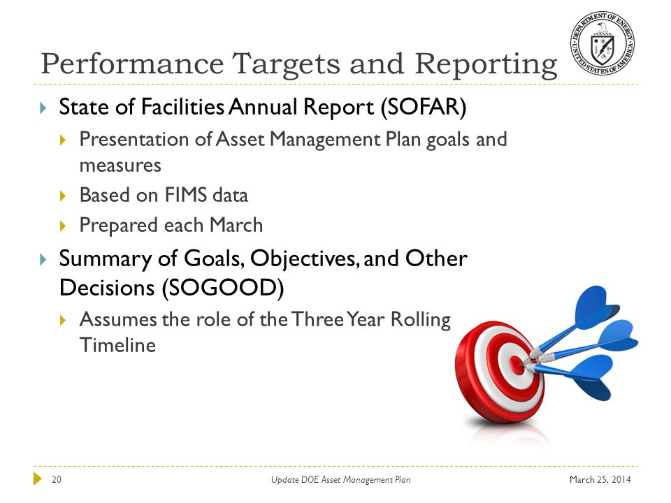 Performance Targets and Reporting