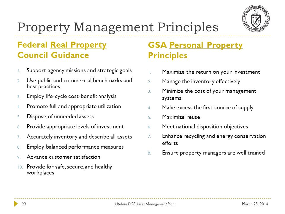 Property Management Principles