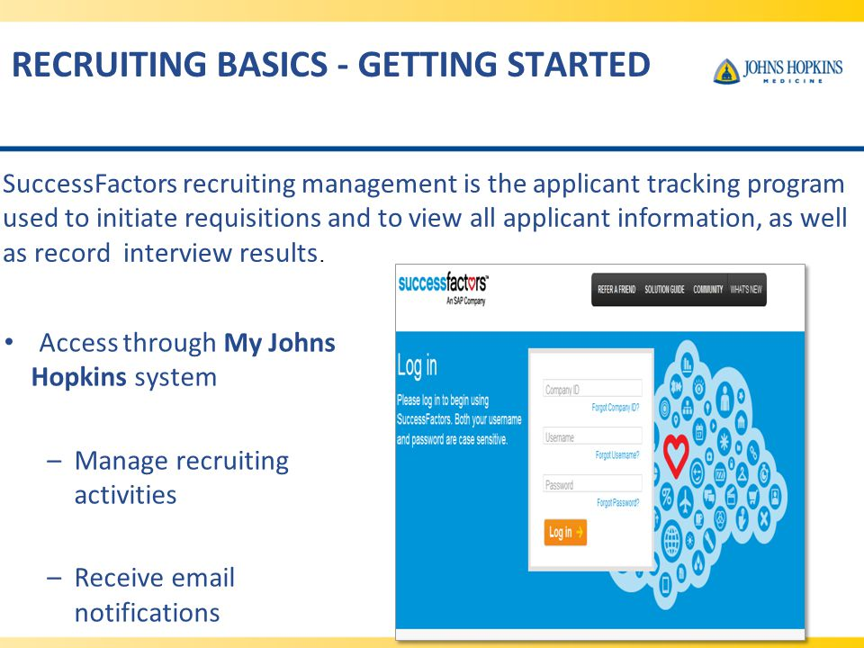 RECRUITING BASICS - GETTING STARTED