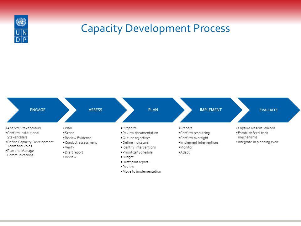 Capacity Development Process