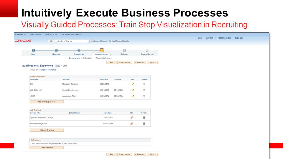 Intuitively Execute Business Processes