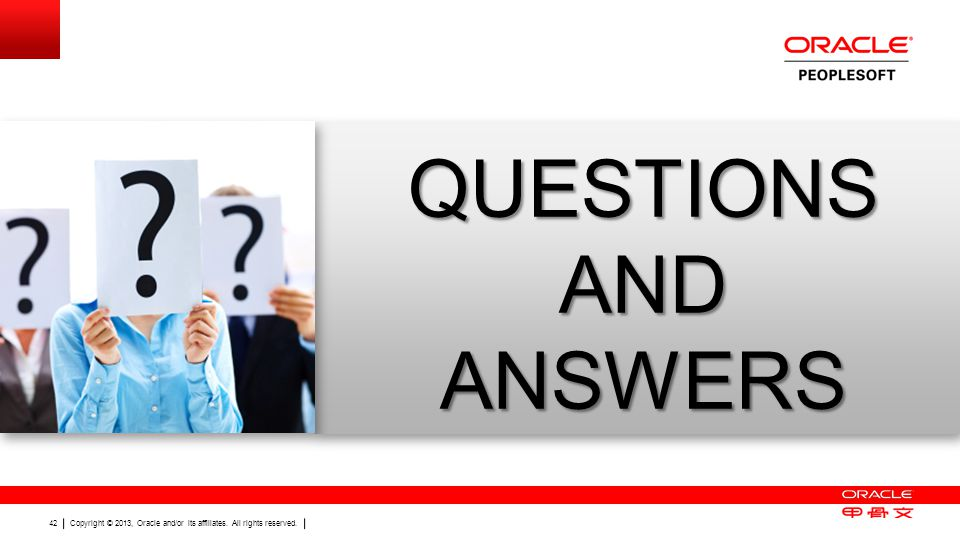 ORACLE PRODUCT LOGO QUESTIONS AND ANSWERS