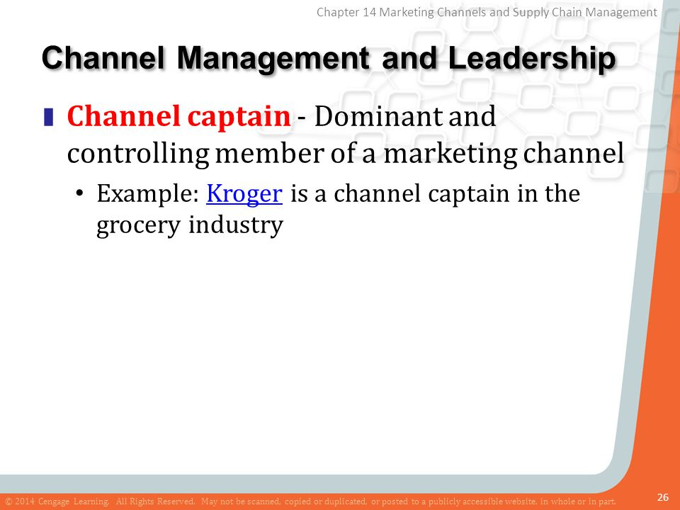 Marketing Channels and Supply Chain Management - ppt download